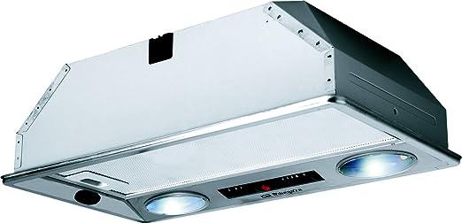 Orbegozo CA 07260 IN-Campana Cassette, INOX, 2 Motores de 120 W, Acero Inoxidable