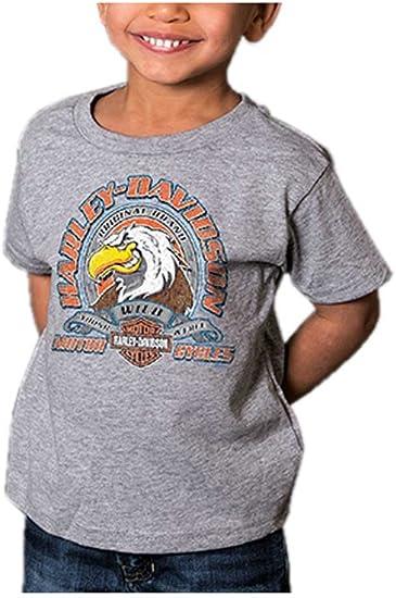 Harley-Davidson Little Boys/' Genuine Legend Short Sleeve Toddler Tee 1570714