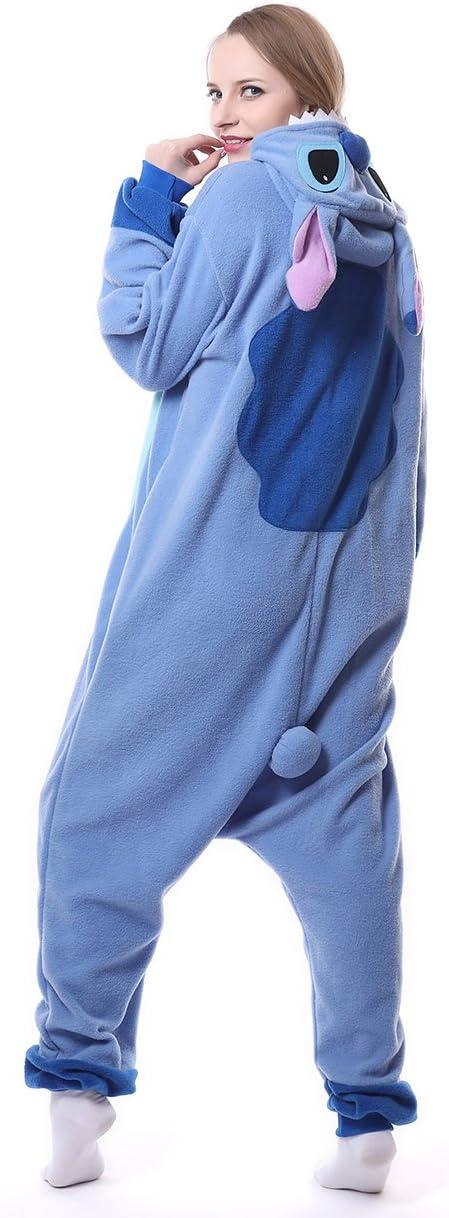 talla para adulto Pijama de invierno de una pieza de franela
