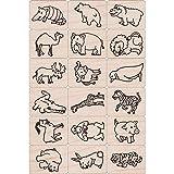 Hero Arts Ink and Stamp Set, Fun Animals (LP1699-LL411)
