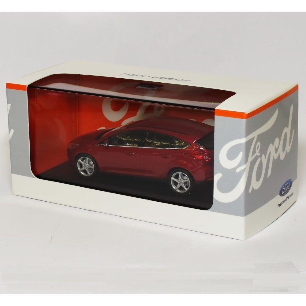 Minichamps 1 / 43フォードフォーカス5ドアFire Red – フォードDealer Edition B00J7SAV1Y
