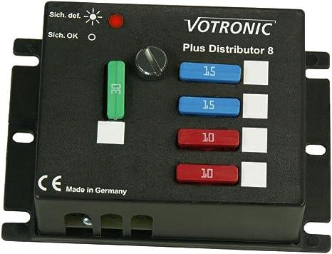 Votronic Circuit Splitter Distributor Plus Minus 12 V Dc 24 V Auto