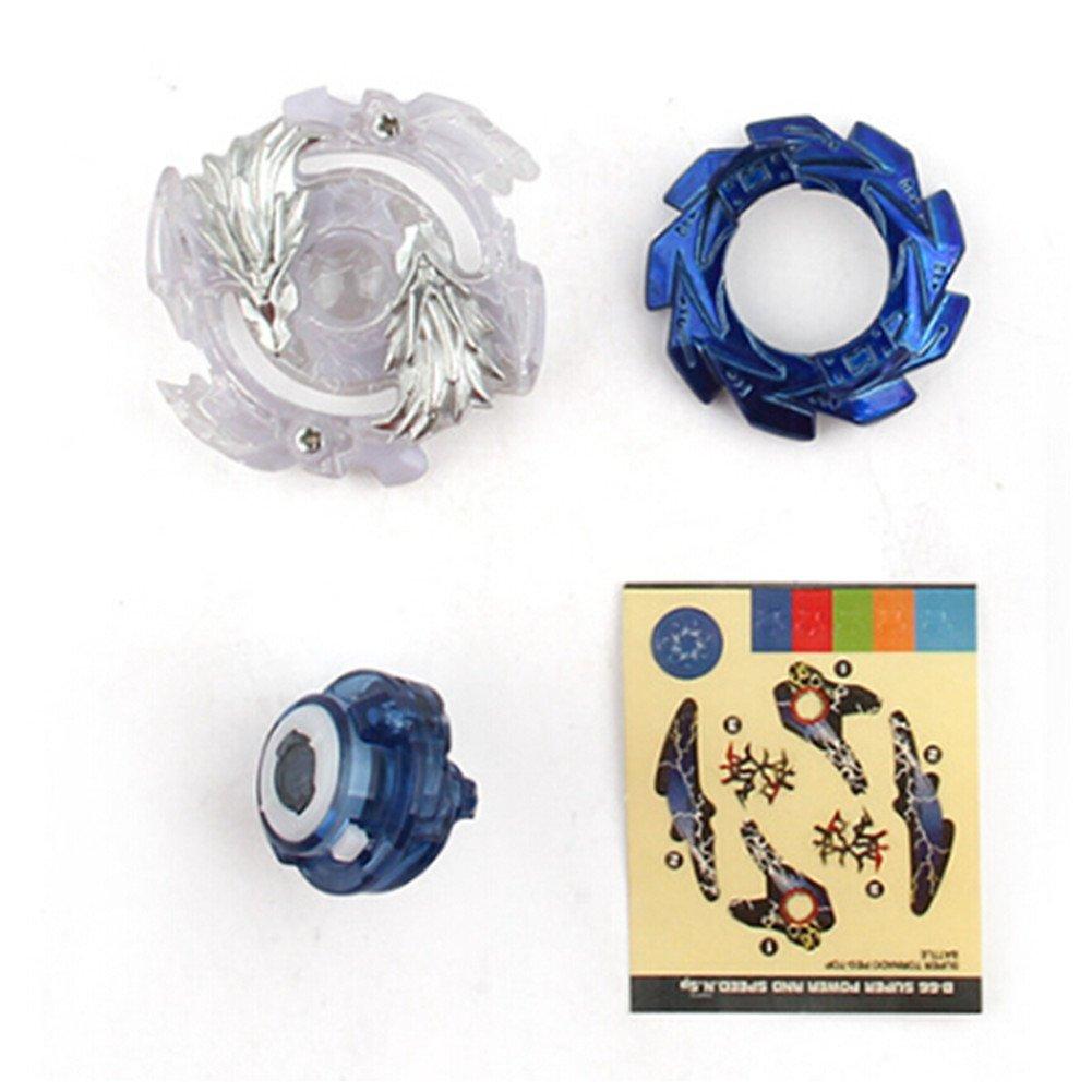 Fayanough Beyblade Burst B-48 B-66 Starter 4D Fusion Modell Metall Speed Kreisel Set Kinder Spielzeug Beste Geschenk f/ür Kindertag Ostern Geburtstag und Neues Jahr Weihnachten