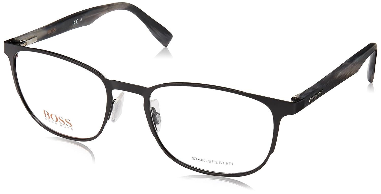 b7045605ce Amazon.com  Eyeglasses Boss Orange Bo 304 0003 Matte Black  Clothing
