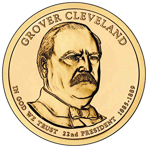 2012 D Cleveland Presidential First Term Dollar Choice Uncirculated