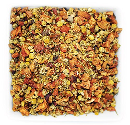 Tealyra - Sweet Apple Chamomile - Cinnamon - Fruity Herbal Loose Leaf Tea - Relaxing Bedtime Tea - Anti-Depressant - Caffeine-Free - 112g ()