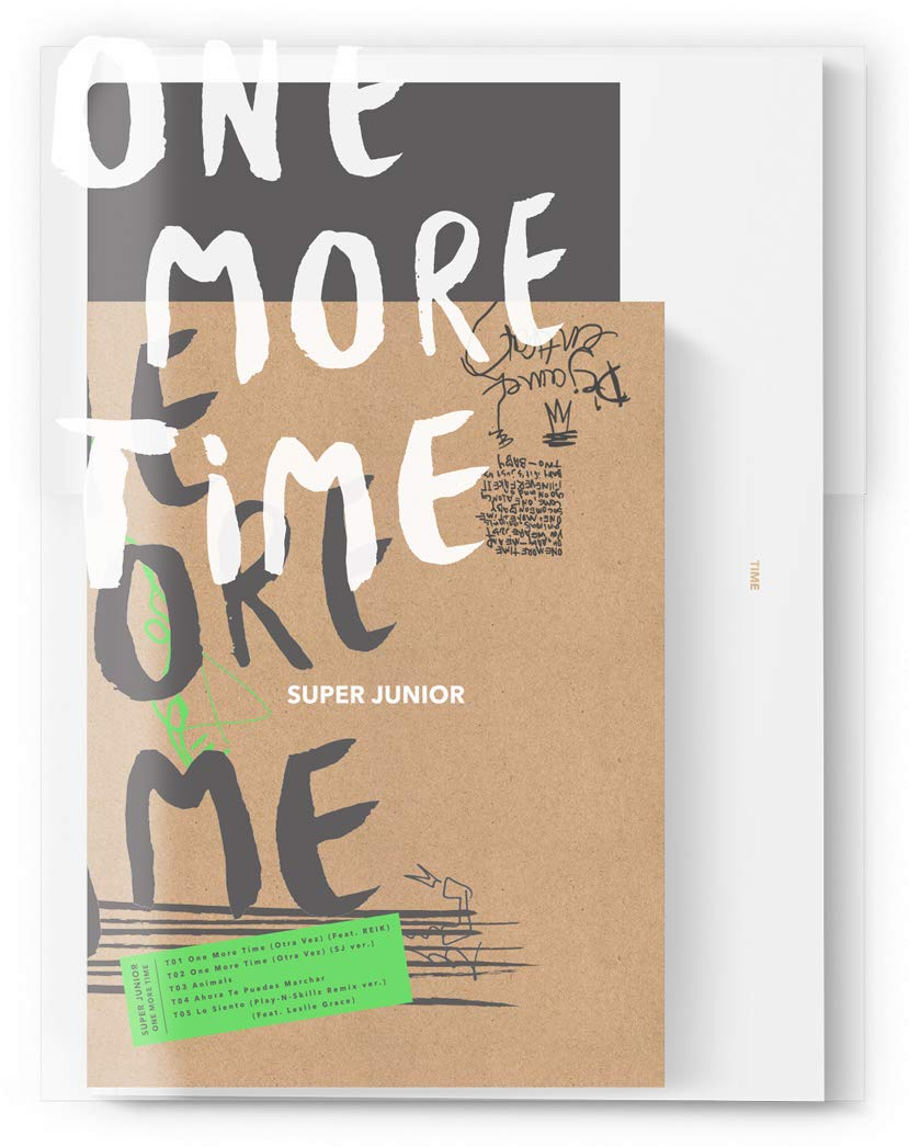 CD : Super Junior - One More Time (Poster, Photos, Asia - Import)