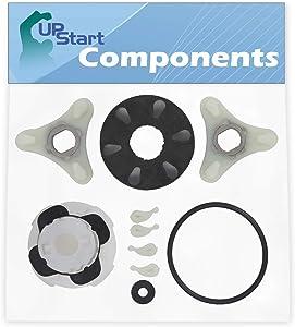 285753A Washer Motor Coupler & 285811 Agitator Repair Kit Replacement for Whirlpool LA5300XTW0 - Compatible 285753A Direct Drive Motor Coupling Kit & 285811 Medium Cam Agitator Repair Kit