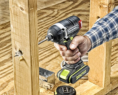 Rockwell RK2860K2 Li-ion Brushless Impact Driver, 20V by Rockwell (Image #4)