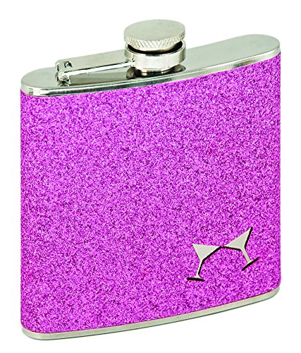 Party Flask Pink by Blush (6 Ounce Liquor Flask)