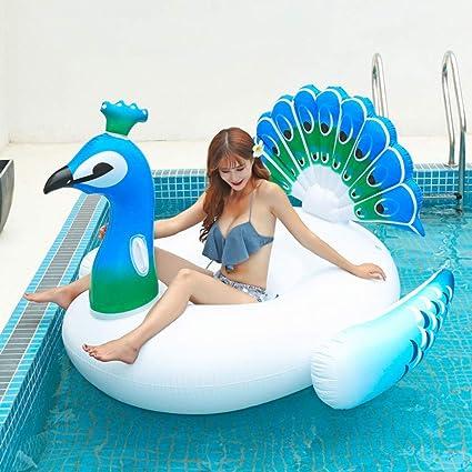ZQQZ Piscina Gigante Flotador con alas Playa Flotadores Nadar Fiesta Juguetes Piscina Isla Verano Piscina Balsa