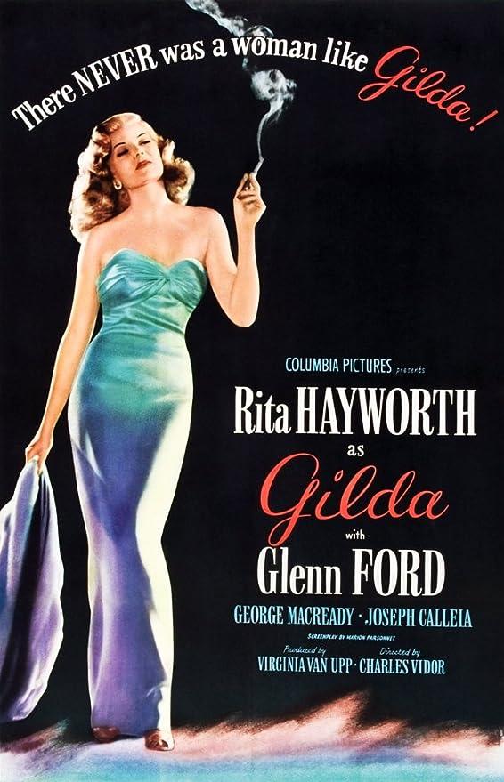 Amazon.com: Posterazzi Gilda Rita Hayworth 1946 Movie Masterprint Poster  Print, (24 x 36): Posters & Prints