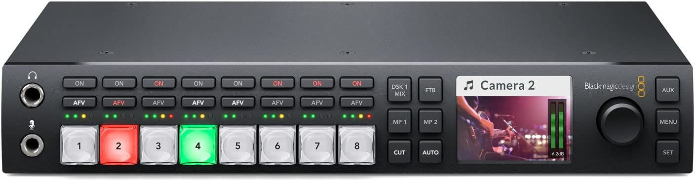Amazon Com Blackmagic Design Atem Television Studio Hd Live Production Switcher Electronics