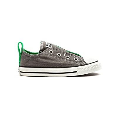 Converse Chucks Kinder Schuhe Simple Slip grau grün 26