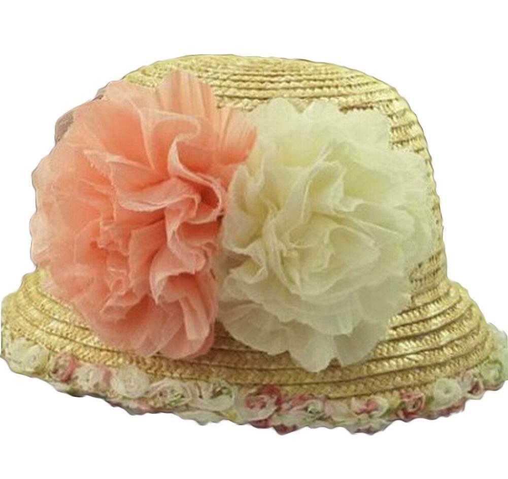 Alien Storehouse Stylish Women Summer Straw Hat Beach Hat Sun Hat Wide Brim Hat
