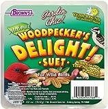 F.M. Brown's Garden Chic Suet and Bread Cakes, 11-Ounce, Woodpecker's Delight