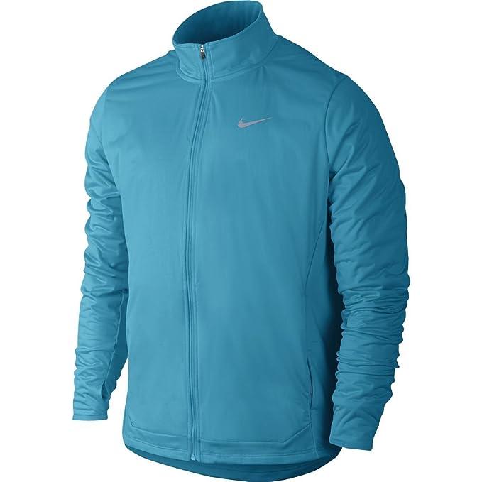 Nike - Shield Full Zip Chaqueta de Running para Hombre (Azul ...