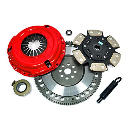 Amazon.com: EFORTISSIMO STAGE 3 CLUTCH KIT+RACING FLYWHEEL 99-00 BMW 328i E46 528i E39 Z3 2.8L M52: Automotive