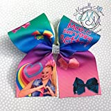 JoJo Siwa inspired cheer bow, hair bow, for the hair bow lover, unique Great stocking stuffer tween, teen