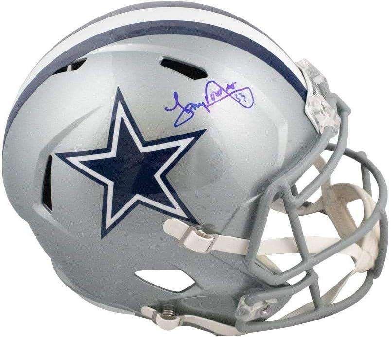 Tony Dorsett Autographed Dallas Cowboys Speed Full-Size Football Helmet BAS COA
