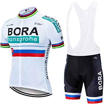 XIAKE Conjunto Ropa Ciclismo para Verano, Maillot Ciclismo Mangas ...