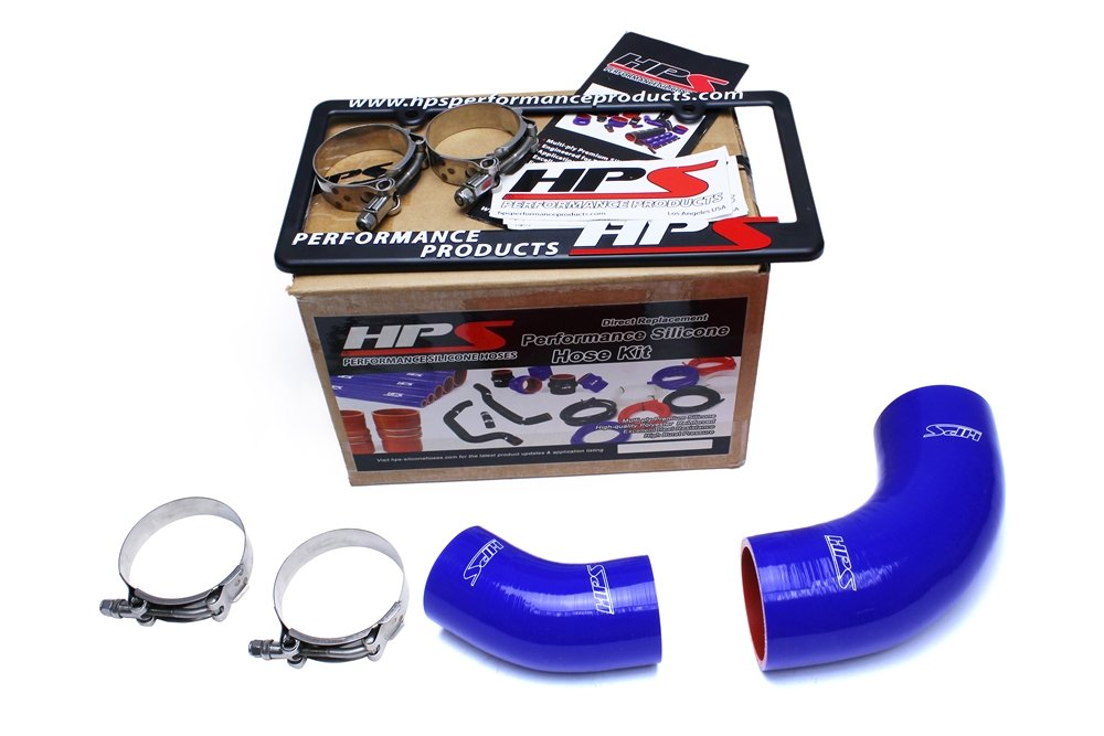 HPS Blue Reinforced Silicone Intercooler Hose Kit for 2006 Mazda Mazdaspeed 6 2.3L Turbo