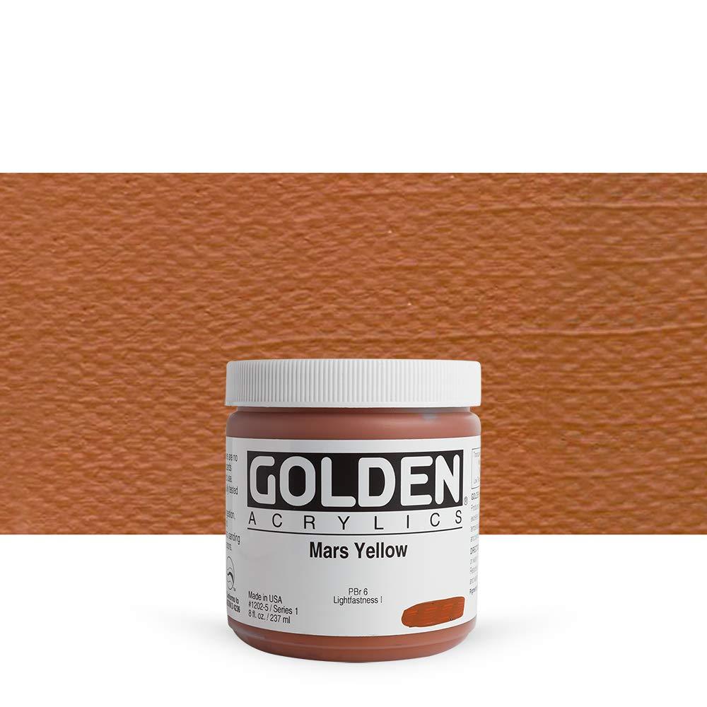 DS - Golden - GAC HB 946ml Naphthol rot Light - 5001210-7 Mars Gelb 8 oz jar