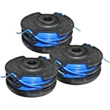 Homelite UT-41120 Toro 51480 String Trimmer Replacement 88512, AC41RL3 3 Pack Spool # 31104178G-3pk