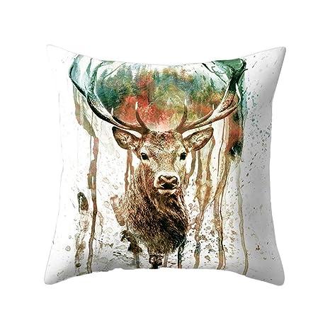 Amazon.com: Wintefei - Funda de almohada de poliéster con ...
