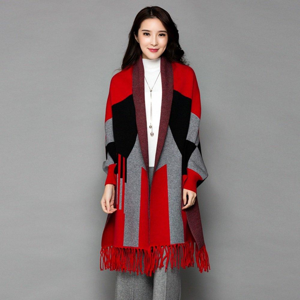 Bufanda HAIZHEN Elegante de moda femenina de primavera y otoño Mantón multifuncional Escudo chal eng...