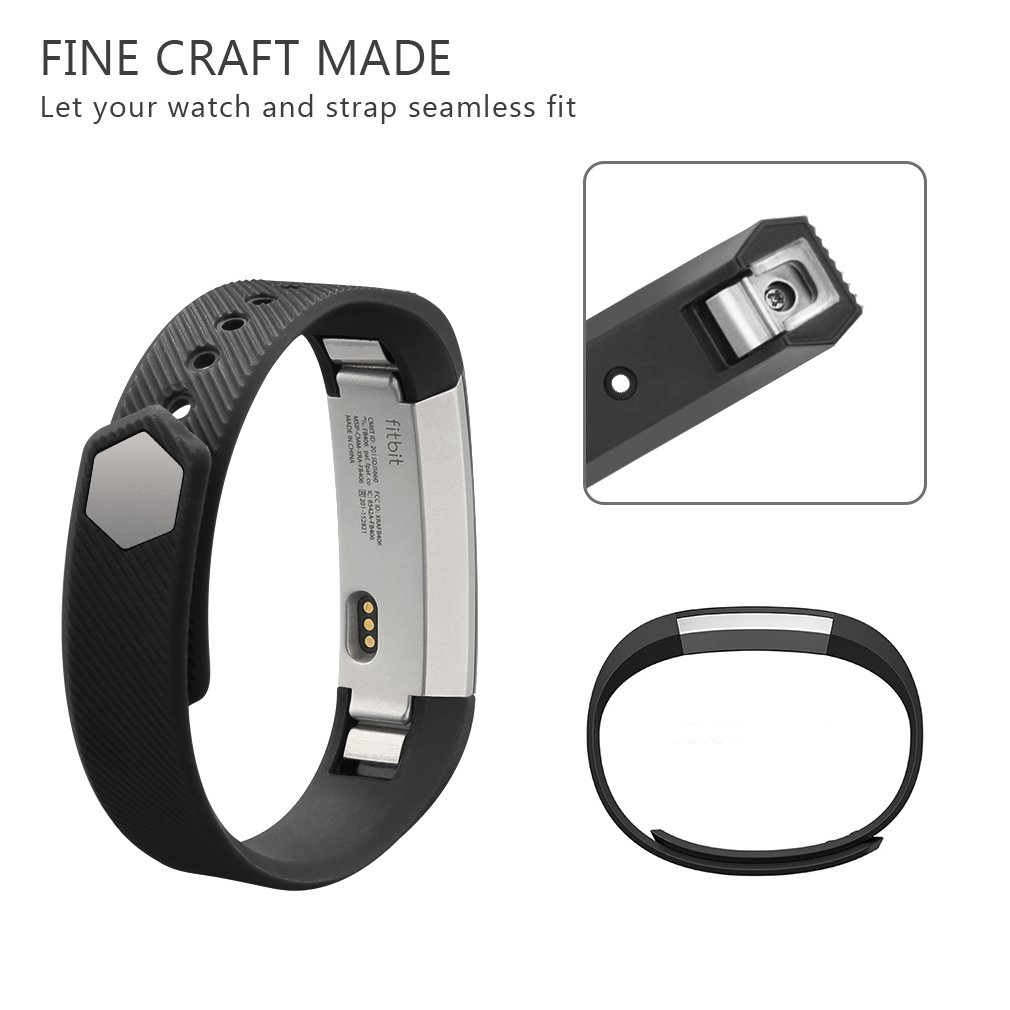 Vancle Fitbit Adjustable Replacement Tracker Image 3