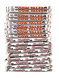 Cow Tales, Caramel Apple and Vanilla Variety, 1 oz. Packages [9 of Each Flavor]