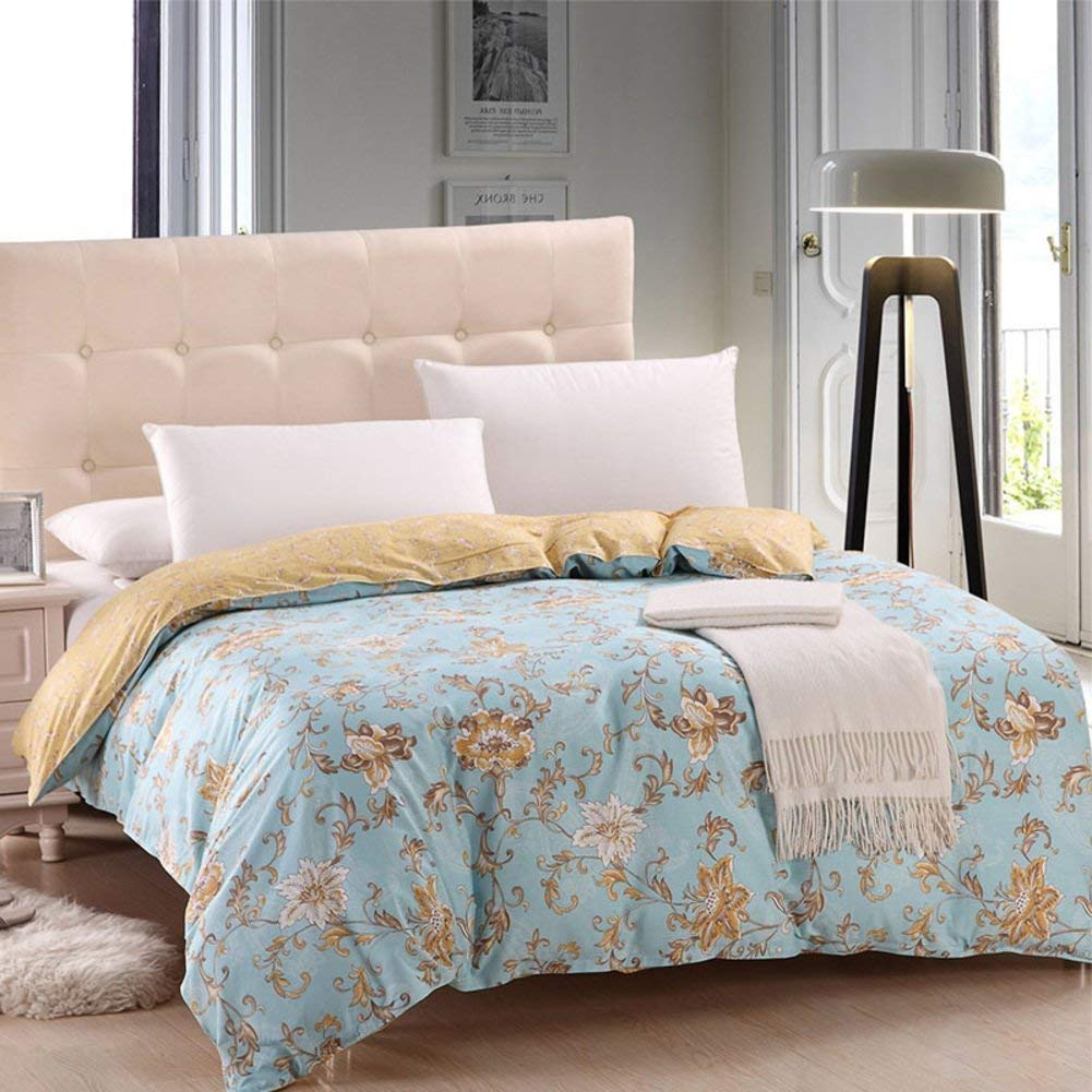 Mabmeiyang ベッドの裏地の綿のキルトカバーシングルピースカバー、シングルダブルベッドの項目 (Color : 200x230cm(79x91inch), サイズ : A) B07QQPGTCR 200x230cm(79x91inch) A