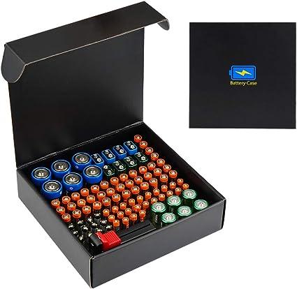 Cpano Caja de Almacenamiento del Organizador de batería, cartón rígido Plegable de protección Ambiental: Amazon.es: Electrónica