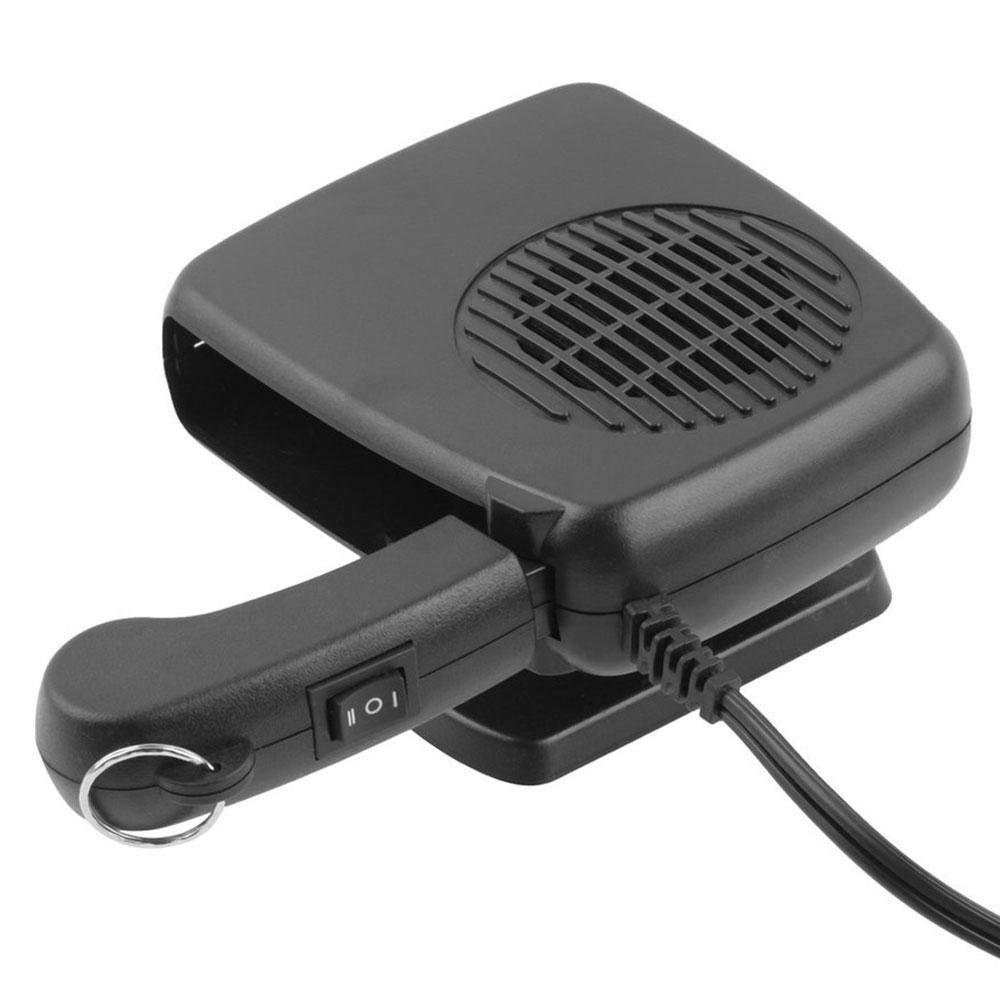 Car Heater Defroster,OXOQO 2 in 1 12V Car Auto Defroster Vehicle Heater Fan with Folding Handle Vehicle Auto Heating Cooling Demister