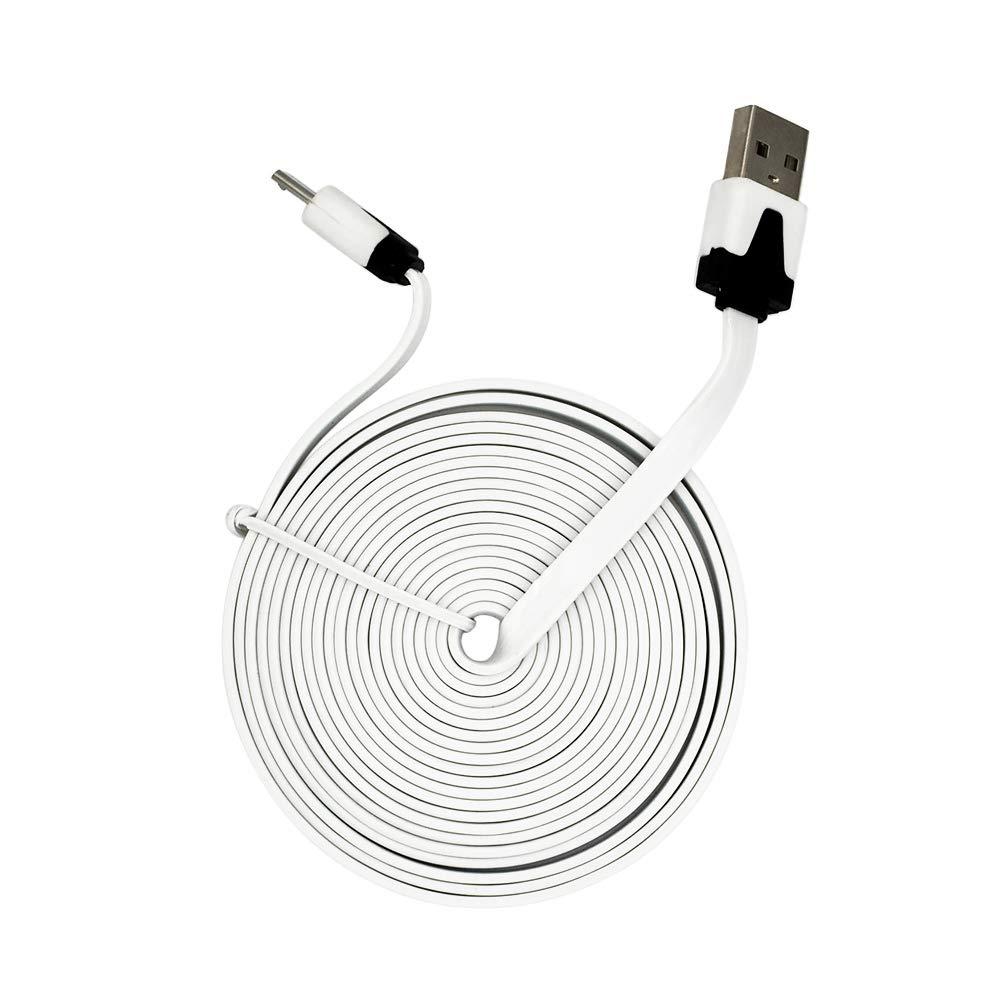 Deylaying USB Cargar Cable cordón para Logitech G633 G930 G933 Auriculares/G700s G900 T630 MX anwhere2 Ratón inalambrico?3m?: Amazon.es: Electrónica