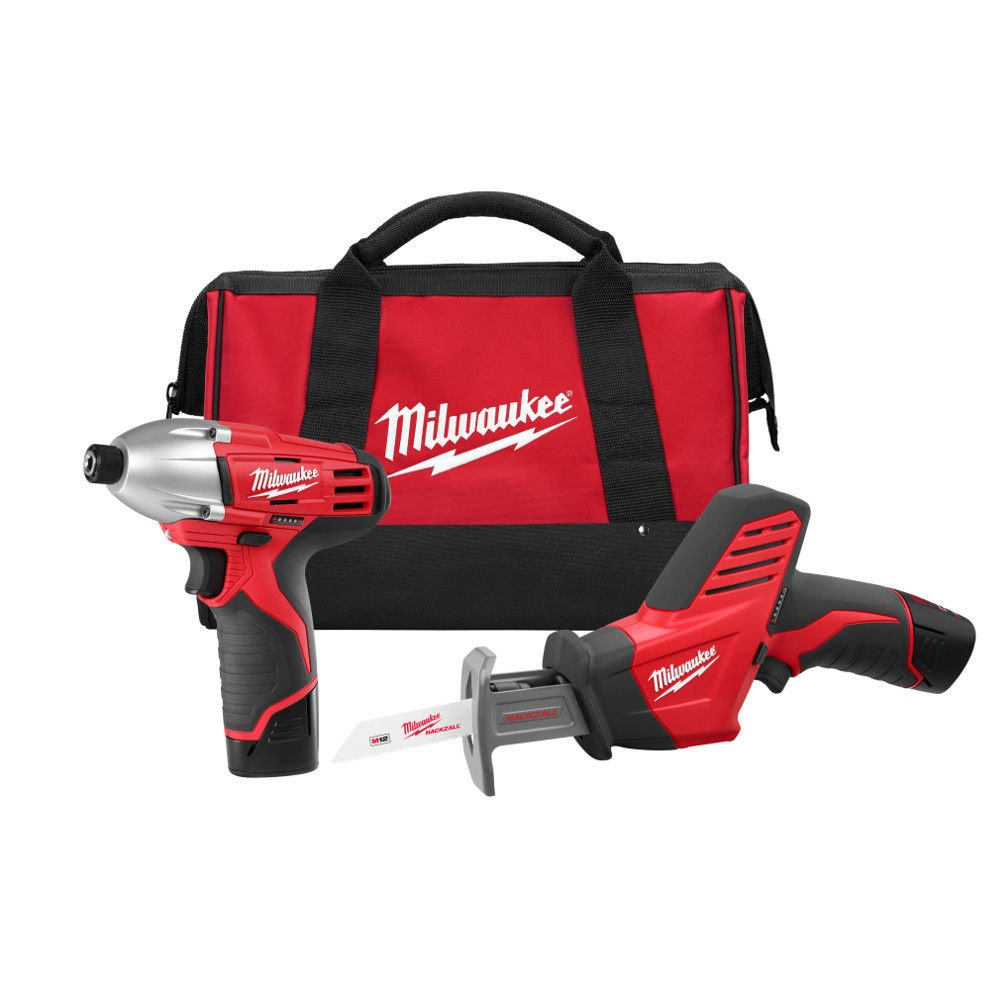 Milwaukee 2491-22 M12 12-Volt Cordless Power Lithium-Ion 2-Tool Combo Kit (item_by#MaxTool Super Sale ,ket362121978762284 by itonotry (Image #1)