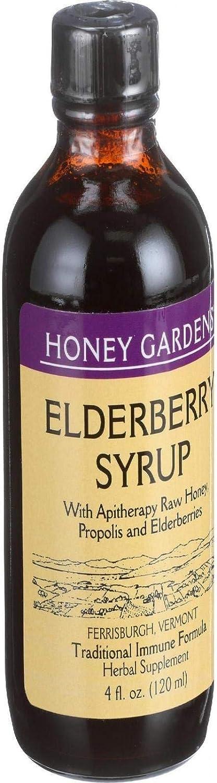 Honey Gardens, Honey Elderberry Extract, 4 Fl Oz