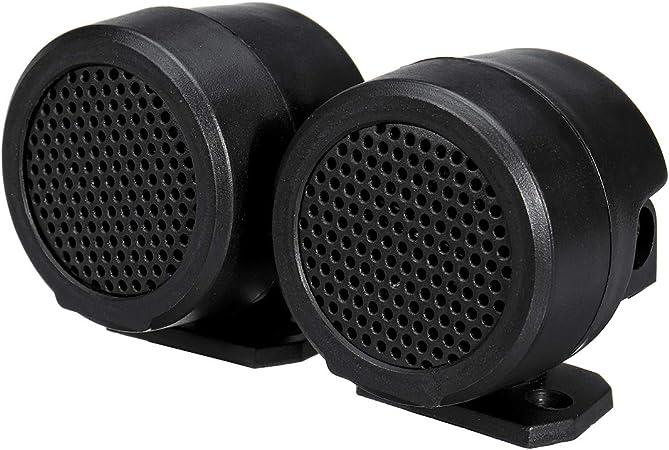 Wooya 2 Stück Car Audio Musik Stereo Super Sound Hochtöner Lautsprecher Horn 12v 500w Küche Haushalt