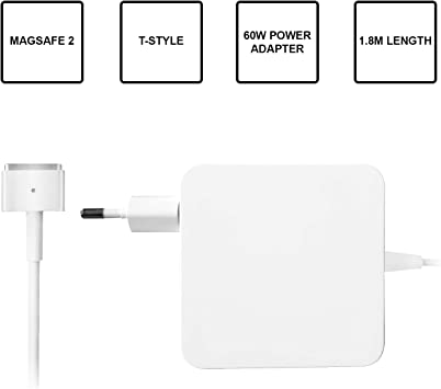 Slabo Cargador de Adaptador de Corriente Compatible con MacBook ...