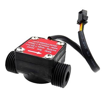 "G1//2/"" Durchflusssensor Wasser Durchflussmesser Sensor Schalter 1-30L//min 1,75MPA"