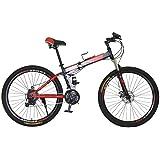 دراجة جبلية Vlra MTB OFT للرياضات واللياقة البدنية 24 بوصة أزرق