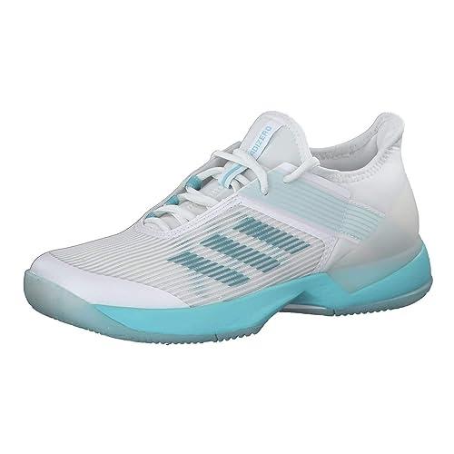 official photos 39006 4dec1 Adidas Adizero Ubersonic 3w x Parley, Zapatillas de Deporte para Mujer,  (Espazu Ftwbla 000), 44 23 EU Amazon.es Zapatos y complementos