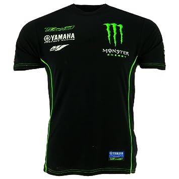 Tech 3 Yamaha Monster Moto GP Racing Team Custom Camiseta Oficial 2017: Amazon.es: Deportes y aire libre