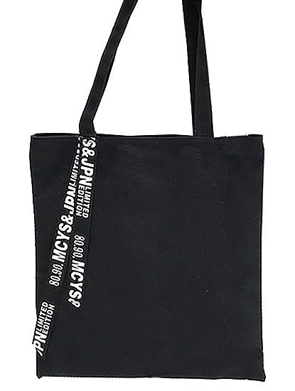 304406a2b70f Amazon.com: VigourTrader Unisex Canvas Tote Bag Pure Cotton Eco ...