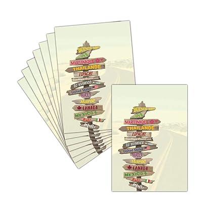 Tarjeta despedida en jubilación - 8 tarjetas - Tarjeta de ...