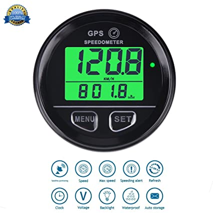 GPS Cuentakilometros Velocimetro digital Speed Meter Waterproof Digital GPS Backlight Speed Counter For ATV UTV Motorcycle