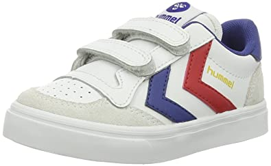 best service 42bac c154b hummel Unisex-Kinder Stadil Jr Leather Low-Top