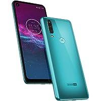 Smartphone Motorola Motorola One Action Aquamarine, Motorola, Motorola One Action XT2013-1, 64 GB, 6.34'', Aquamarine