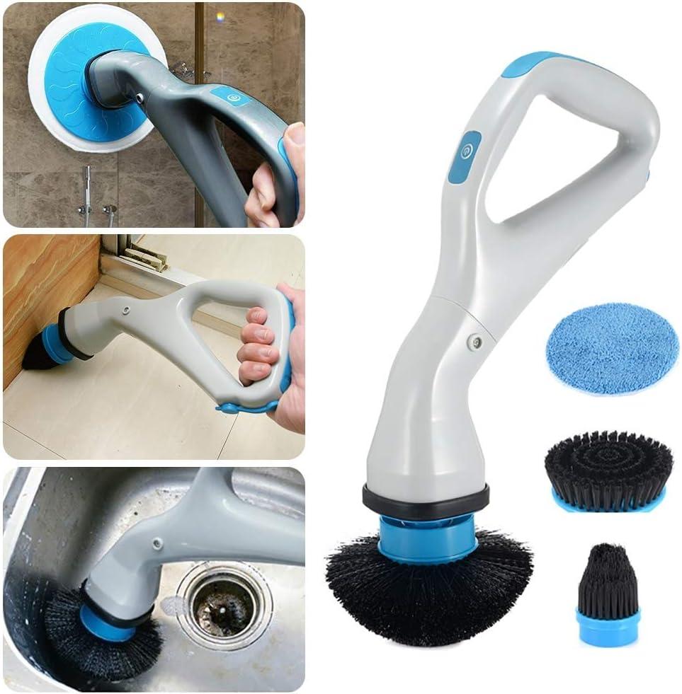 CRZJ Elektrische Reinigungsbürste, Spin Scrubber, Drahtlos - Mit 18